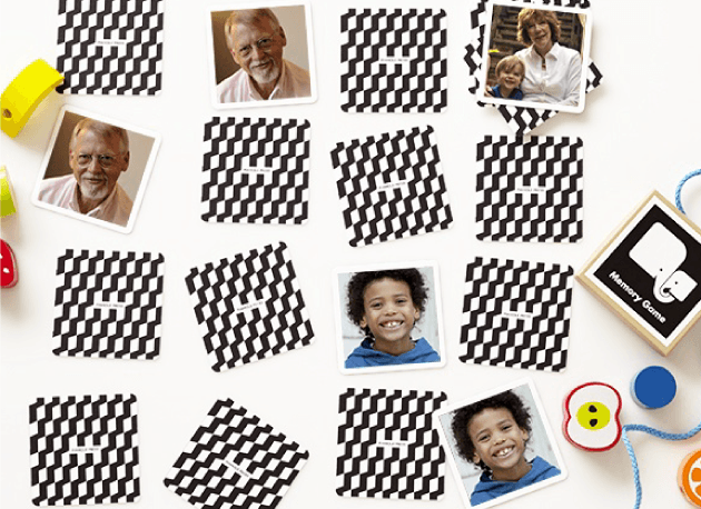 Photo Memory Game for Memory Care